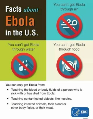 ebola getting facts