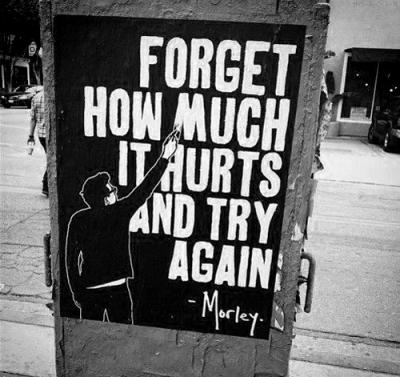 try again hurt