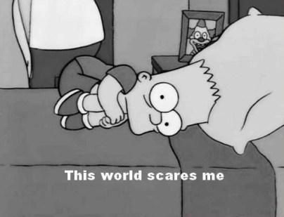 2014 world scares me