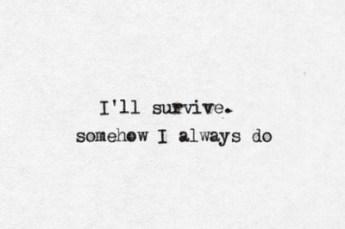 survive always do