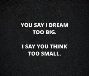 imagination fail dream