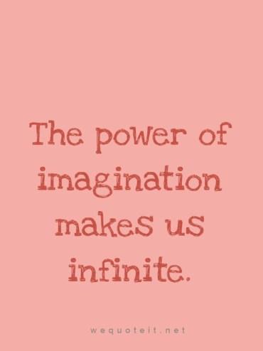 imagination infinite