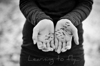 learning to fly hands