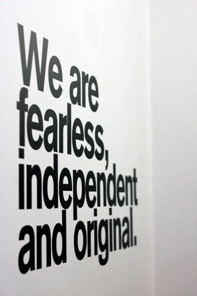 teen fearless independent original