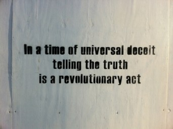 truth revolutionary act