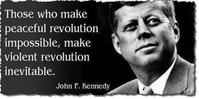 violent revolution peaceful