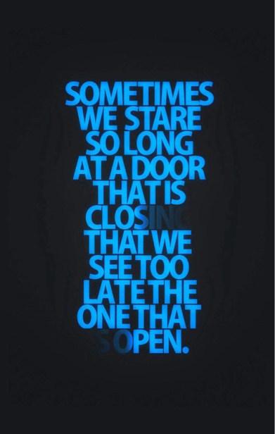 door closing open
