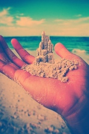 scraps of dreams sand castle
