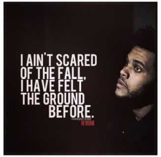 weeknd fall ground