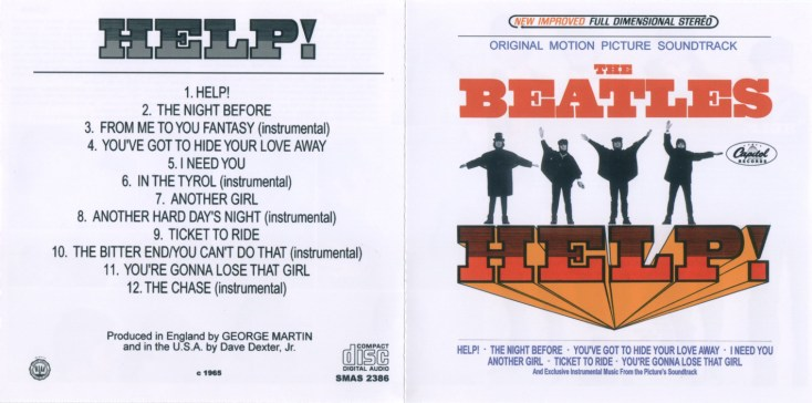 Help movie soundtrack Beatles