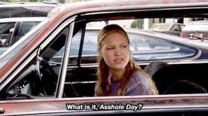 asshole day