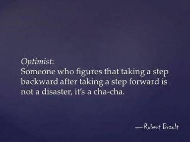 disaster optomist