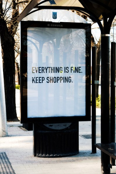 indulgence shopping is