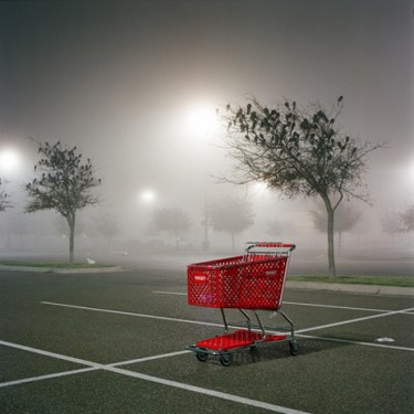 shopping red cart