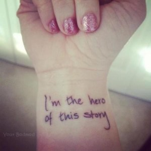 story hero tattoo