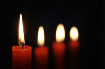 candle flame 5 advent light