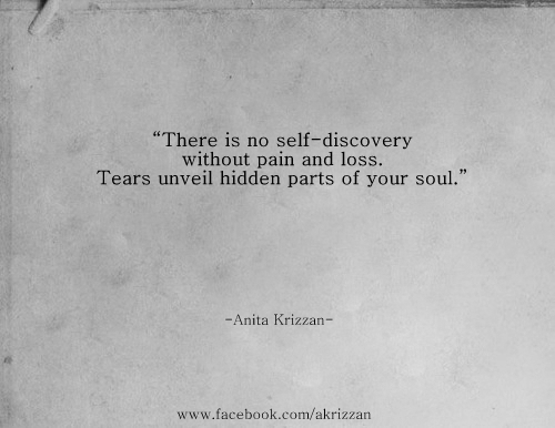 self discovery loss soul