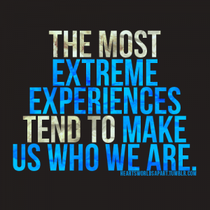 extreme embrace the extreme experience