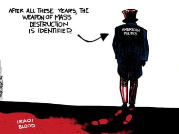 politics destruction