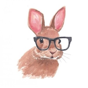 thoughtful rabbit idea quick slow