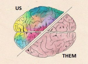 us versus them brain