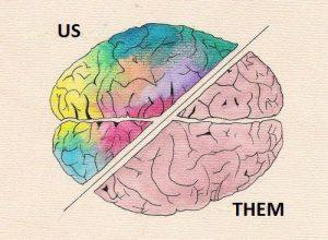us versus them brain