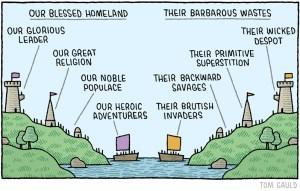 us versus them perspective