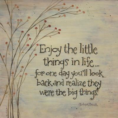 little things big things