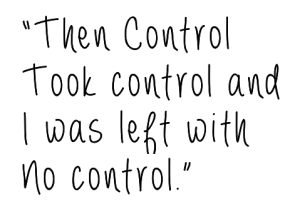control took control perfectionist