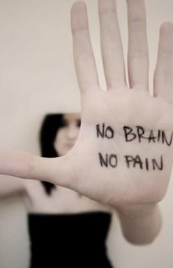 no brain pain