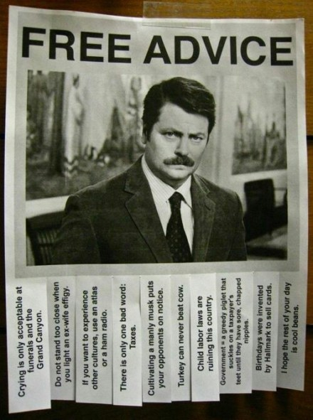 advice parks recreation