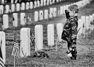 military respect salute
