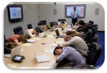 presentation asleep