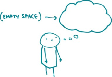 thought-empty-space-speak