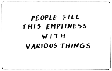 fill-emptiness-empty-with-various-things