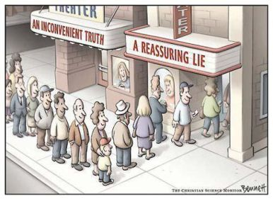inconvenient truth reassuring lie complex