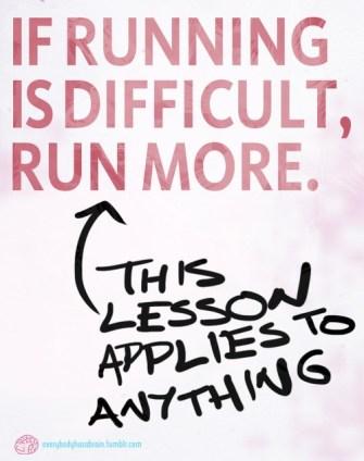 work hard run more difficult unfair life