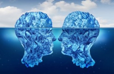 iceberg heads minds thinking experience