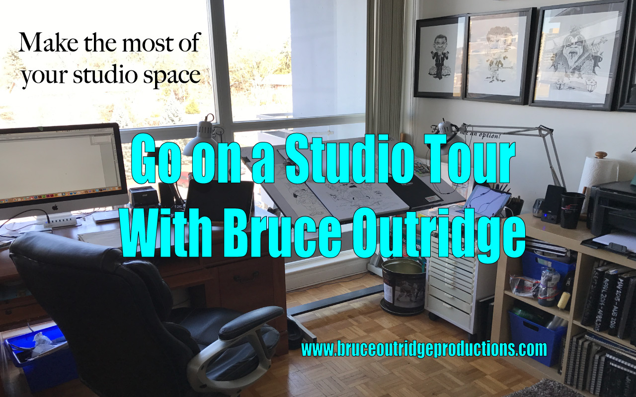 Take a Studio Tour With Artist Bruce Outridge