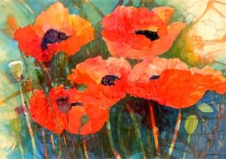 Poppies II - Lin Souliere