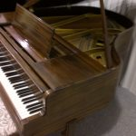 Chickering Baby Grand Side Angle Front