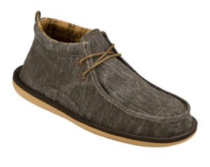 Mens Walla Shoe in Dark Brown