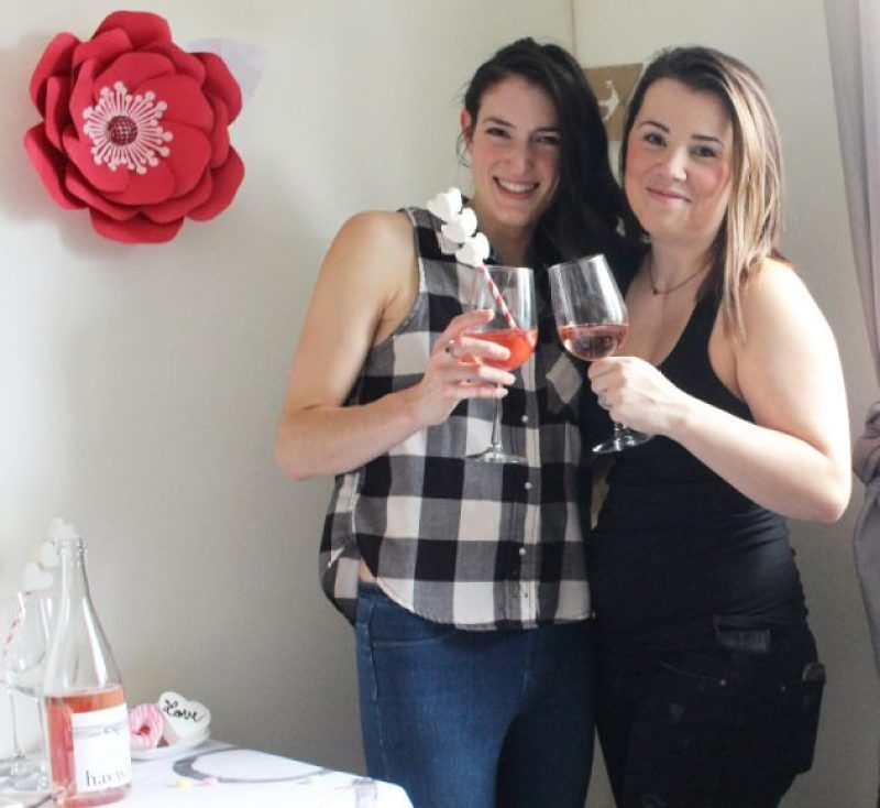 Cheers To Good Friends! A Valentine's Day Party Tutorial! 22