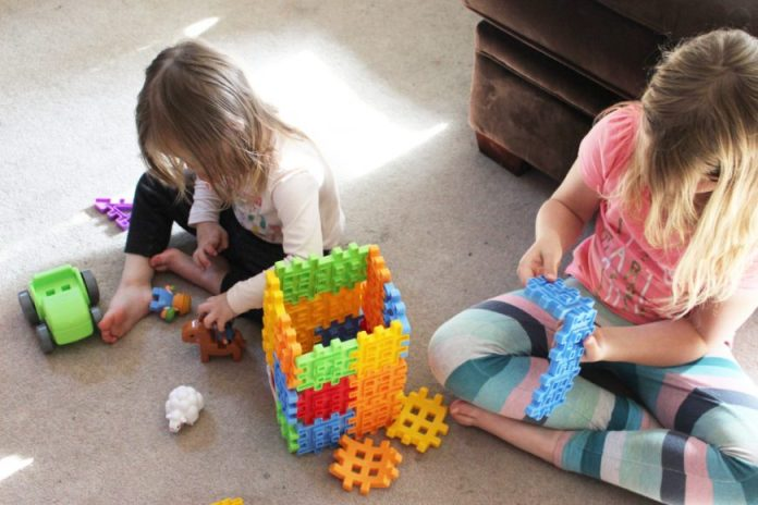 Little Tykes Waffle Blocks- If You Build It They Will Come! {Giveaway} 1