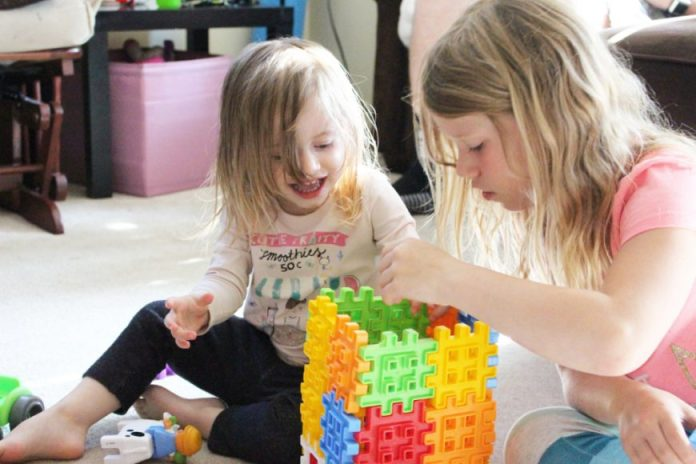 Little Tykes Waffle Blocks- If You Build It They Will Come! {Giveaway} 3