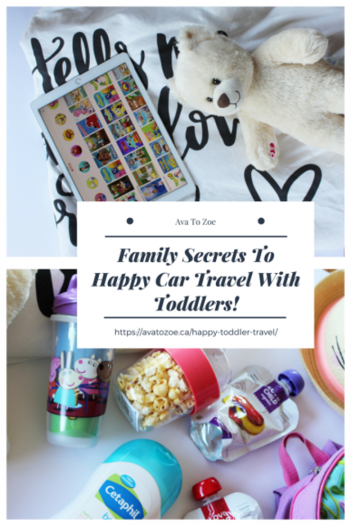 Family Secrets To Happy Car Travel With Toddlers! 12