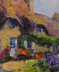 2016-24-art-gardens-stebner-Lavender cottage, Brittany
