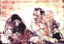 """""""Punch"""" monotype © Bruce Waldman."""