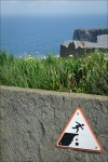Caution – Cliffs of Moher, County Clare, Ireland
