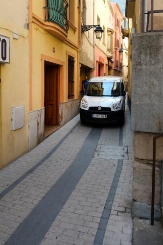 A tight squeeze in Monistrol de Montserrat